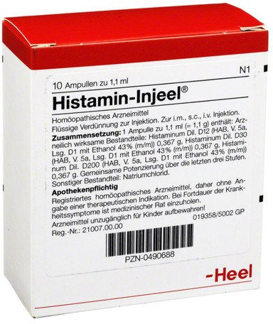 Histamin Injeel - Ampoules