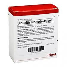 Sinusitis Nosode Injeel Ampoules