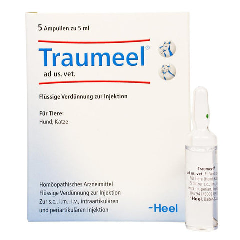 Traumeel S Ampoules - Large, 5ml, 5 Amps