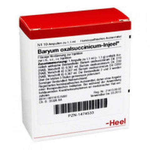 Baryum Oxalsuccinicum Injeel - Ampoules