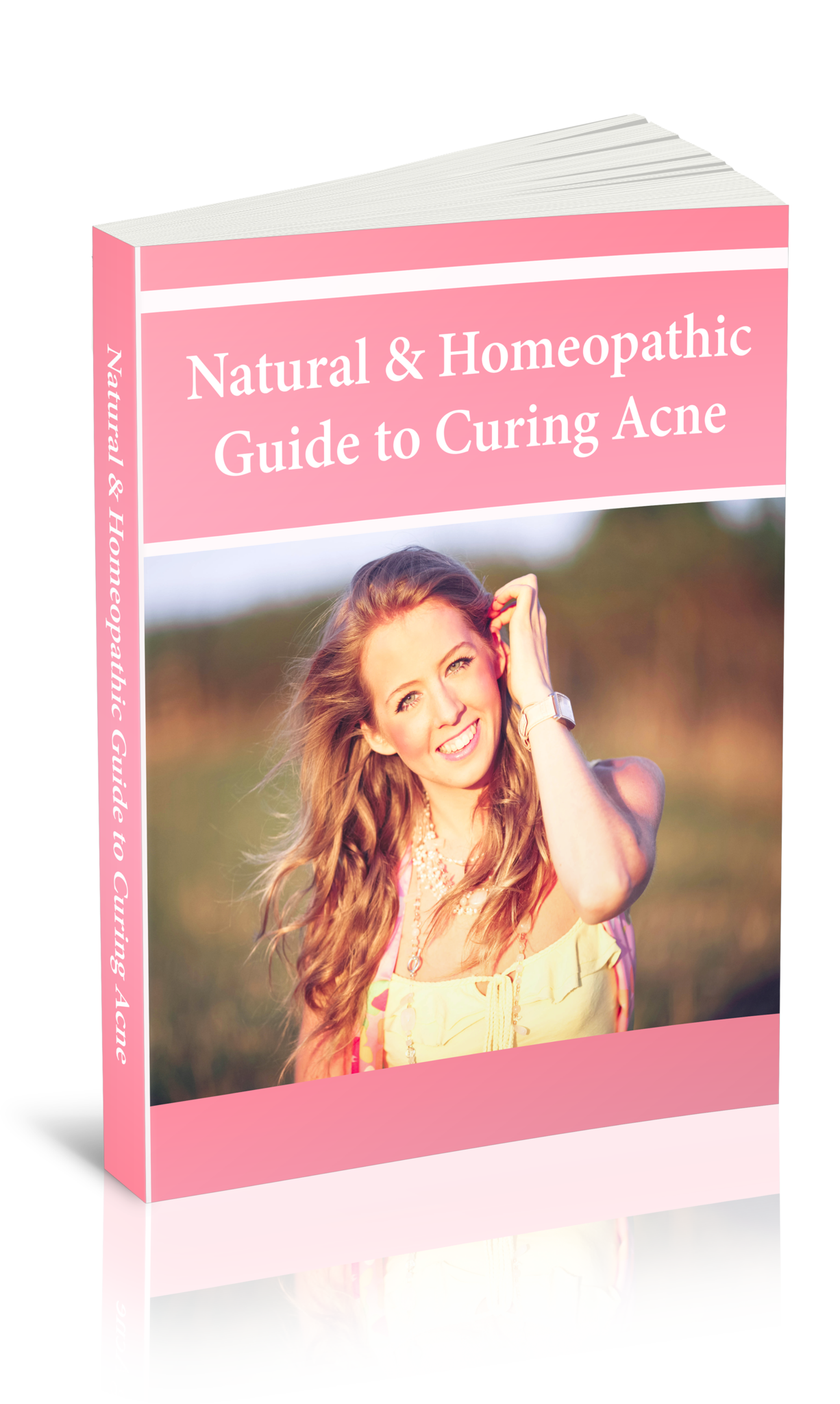Natural & Homeopathic Cure for Acne eBook