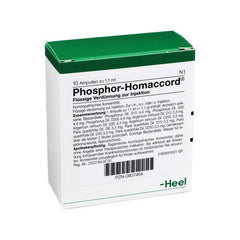 Phosphor Homaccord - Ampoules