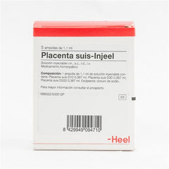 Placenta suis Injeel Ampoules