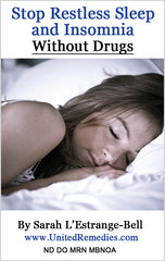 Stop Restless Sleep & Insomnia Without Drugs eBook