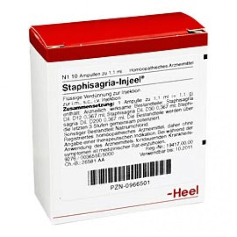 Staphisagria Injeel - Ampoules
