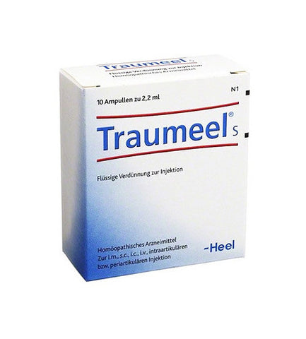 Traumeel S Ampoules, 10 Amps, 2.2ml