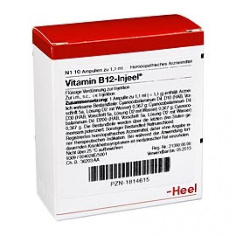 Vitamin B12 Injeel - Ampoules
