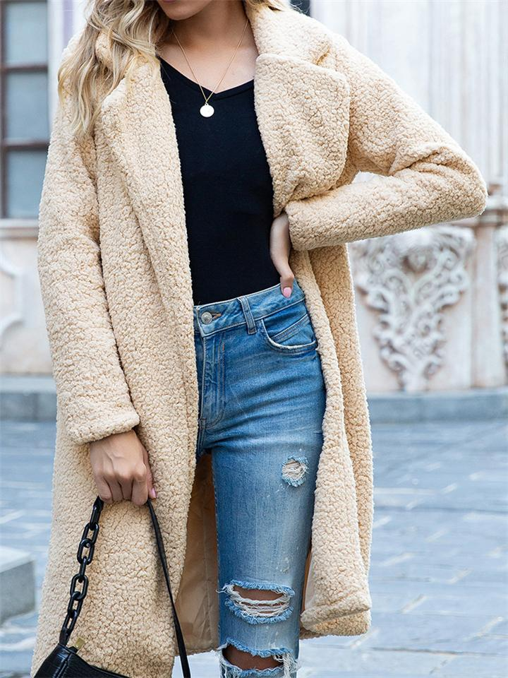 Fashion Ultra Cozy Open Front Fur Coat