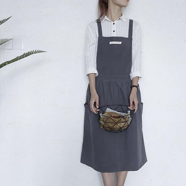 Sleeveless Shift Gathered Dress