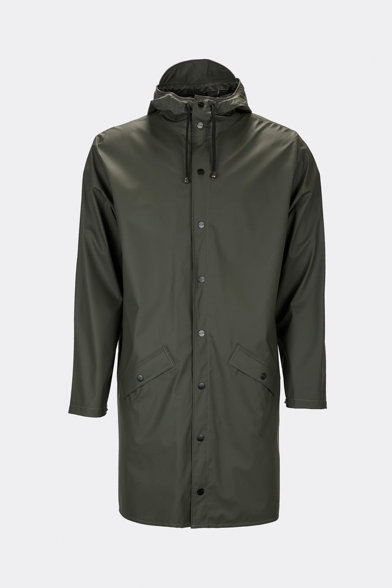 Rains - Long Jacket Green
