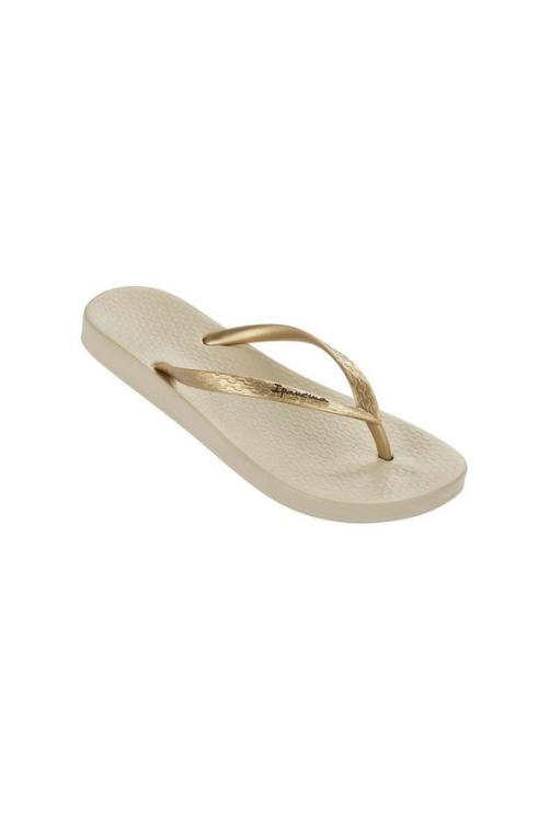Ipanema - Ana Flip Flop in Gold/Beige