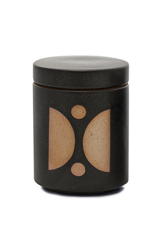 Palo Santo & Suede - Ceramic Candle with Lid