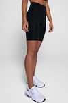 High Rise Bike Short - Black