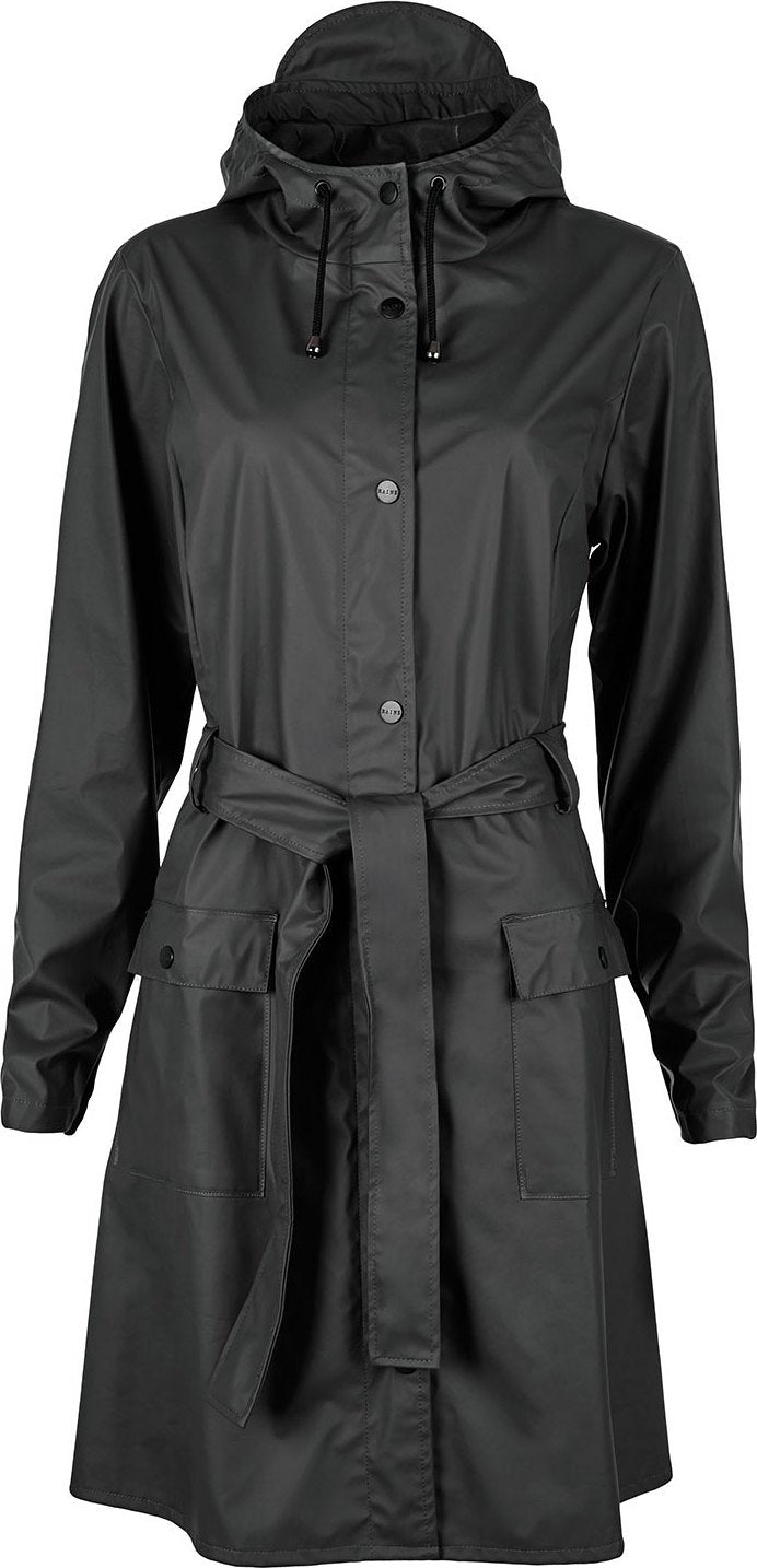 Rains - Curve Jacket Black