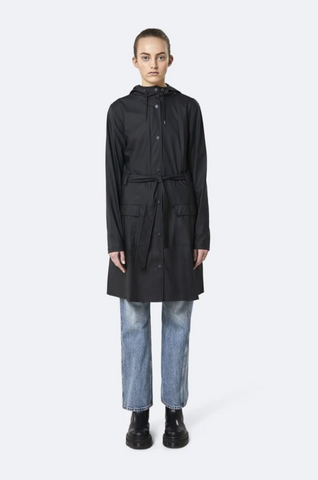 Rains - Curve Jacket Charcoal