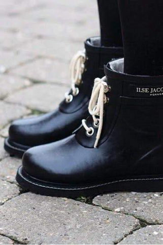 Ilse Jacobsen - Lug Boot Black
