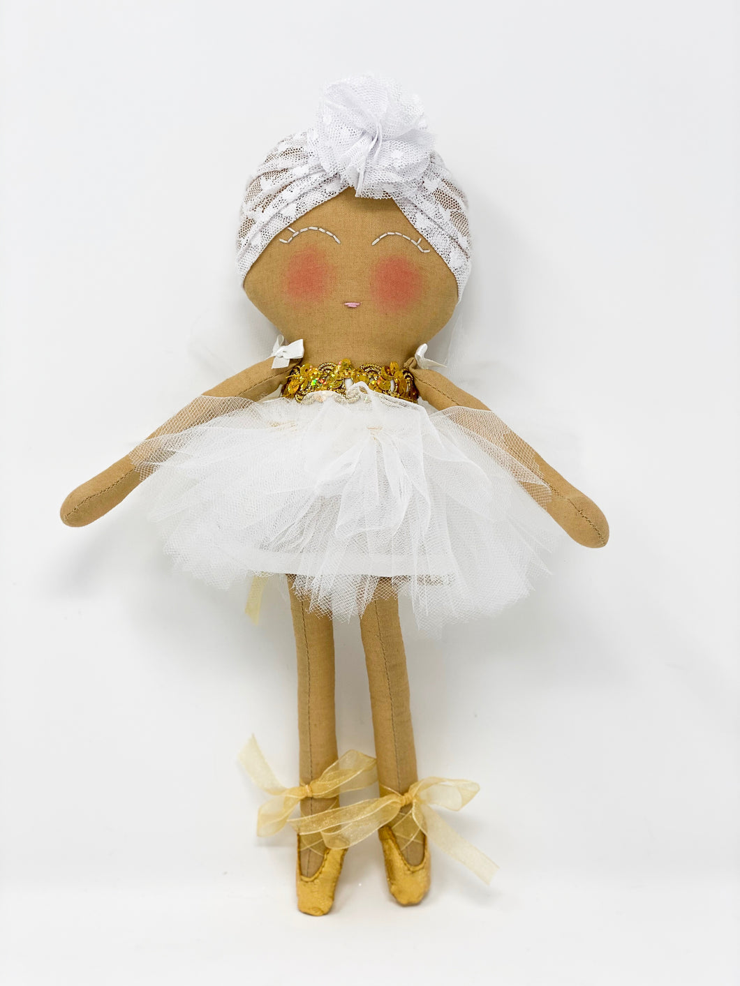 White and Gold Hope Doll