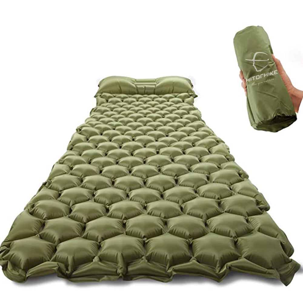 HITORHIKE ® SLEEPING PAD| THE #1 OUTDOOR SLEEPING MATTRESS