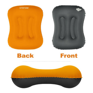 Hitorhike Mini Travel Pillow Ultralight Portable Air PVC Inflatable Pillow Outdoor Camping Travel Soft Pillow Tent Use Accessory
