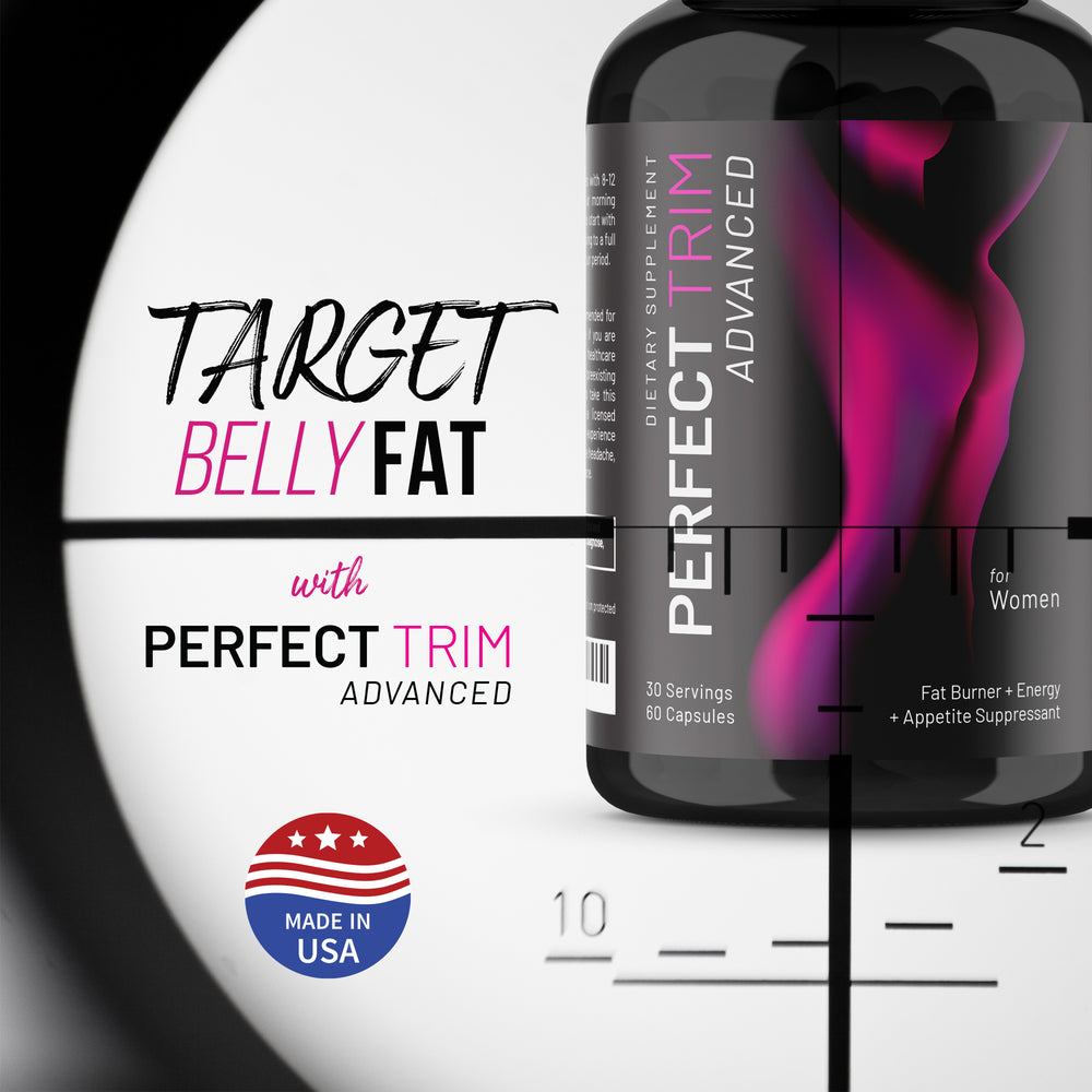 Perfect Trim Advanced Fat Burner - Weight Loss Supplement and Appetite Suppressant