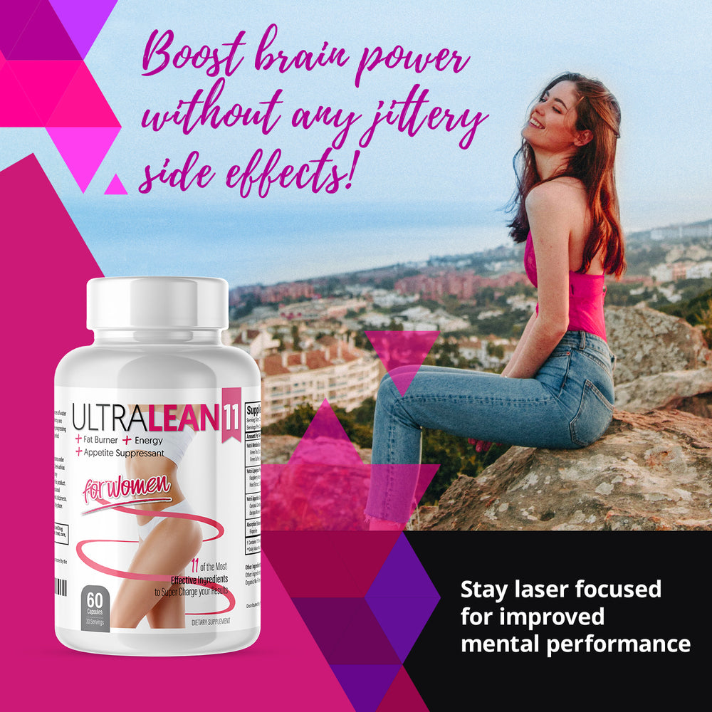 Buy 3, Get 1 FREE /  Ultra Lean 11 - Energy Support, Appetite Suppressant, Multi Complex Supplement for Weight Loss