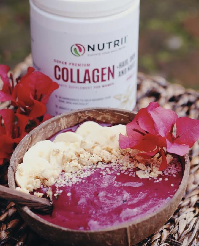 Super Premium COLLAGEN + Hair,Skin, Nails (Blueberry Pomegranate)