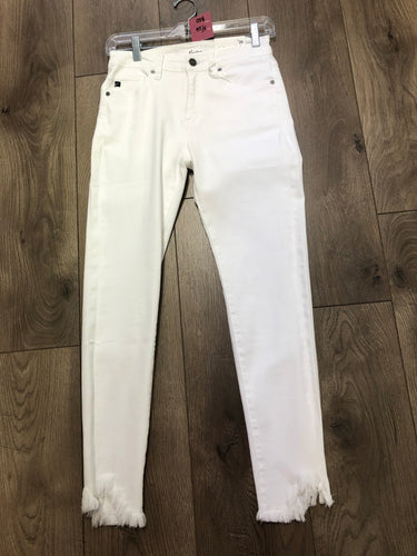 white jeans #1009