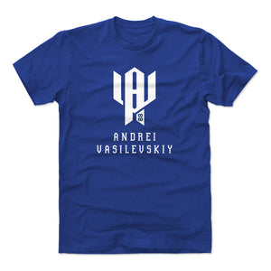 Andrei Vasilevskiy Men's Cotton T-Shirt | 500 LEVEL