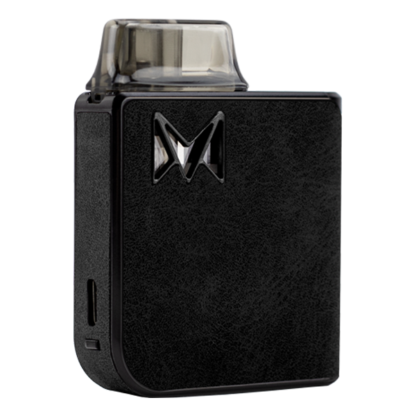A combination of reliable vape mods with classy gentleman styles, available here with the Black Suede Mi-Pod PRO