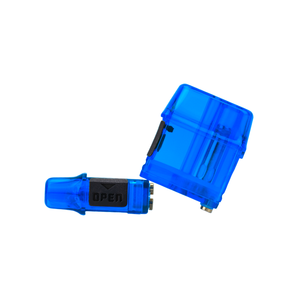 Available in bulk, Blue colored replacement pods for the Mi-Pod PRO pod system