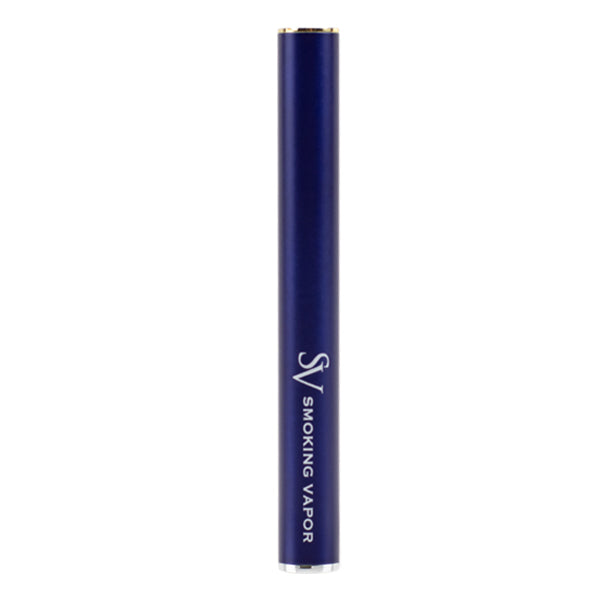 Bulk quantities, blue vape pen batteries made for disposable cartridges, designed by Smoking Vapor
