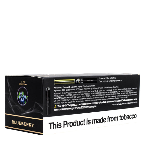 Shop low wholesale prices for Blueberry cartridges by Smoking Vapor, flavored refills for electronic cigarettes
