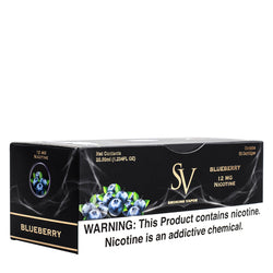 Shop in bulk for disposable vape cartridges by Smoking Vapor, flavored with Blueberry e-liquid
