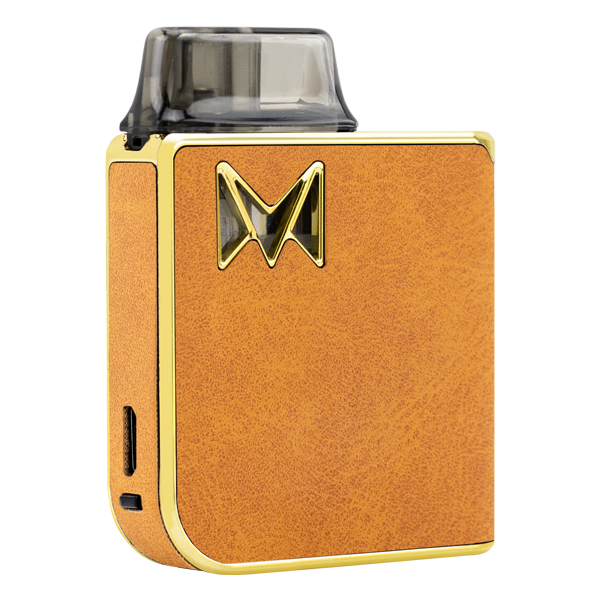 A combination of reliable vape mods with classy gentleman styles, available here with the Brown Suede Mi-Pod PRO