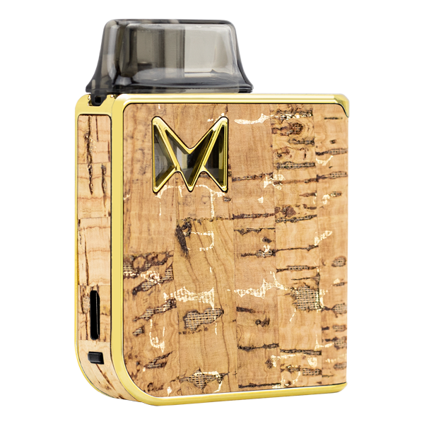 Made with elegance and fine taste, the Gold Cork Mi-Pod PRO was made for use with nicotine salts. Available online at low wholesale prices.