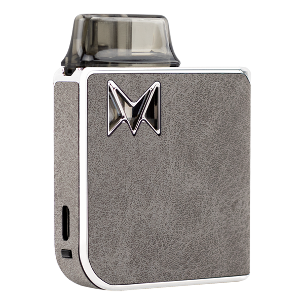 A combination of reliable vape mods with classy gentleman styles, available here with the Grey Suede Mi-Pod PRO