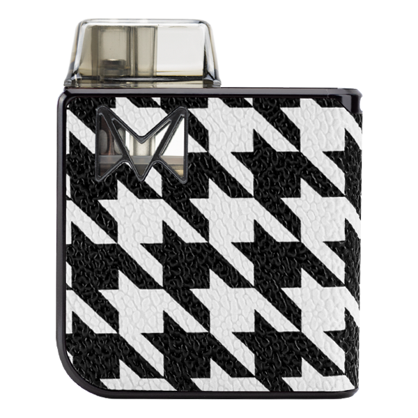 Experience wintery houndstooth styles with Mipod PRO, an award winning vape pen