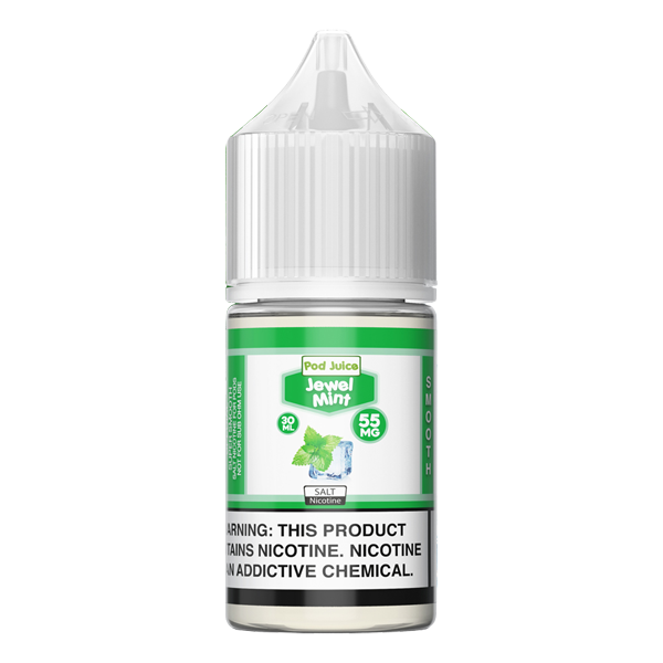 Made for refillable pods, browse the Jewel Mint flavored e-liquid and more Jewel Flavors from Pod Juice