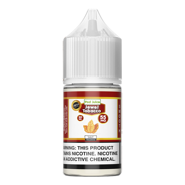 Made for refillable pods, browse the Jewel Tobacco flavored e-liquid and more Jewel Flavors from Pod Juice