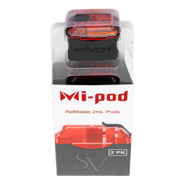 Shop limited edition Red Replacement Pods for the Mi-Pod Starter Kit, designed for nic salt vaping