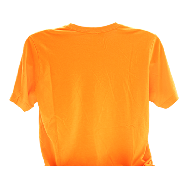 Represent Mi-Pod with this orange T-shirt, made for vape shops