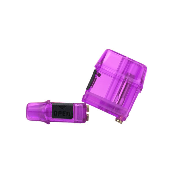 Colored purple replacement pods for the Mi-Pod PRO Starter kit, designed for vaping nic salts
