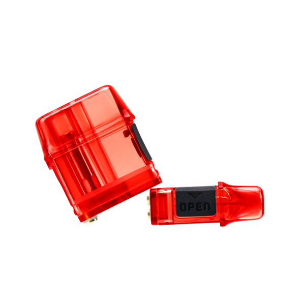 Available in bulk, red colored replacement pods for the Mi-Pod PRO pod system