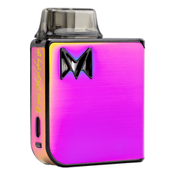The Rainbow Metal Mi-Pod PRO, an extremely durable and reliable vaporizer pen for nic salts