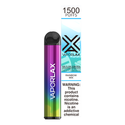 Bulk disposable vape pens from vaporlax, each with 1500 puffs of candied sweets flavor