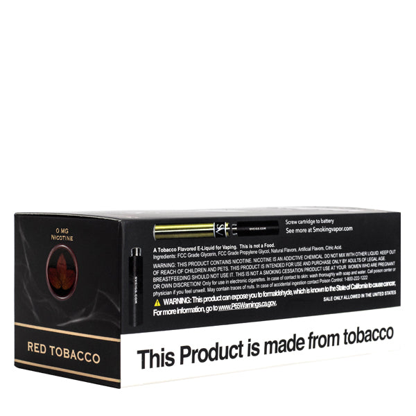 Red Tobacco Cartridges 50pk
