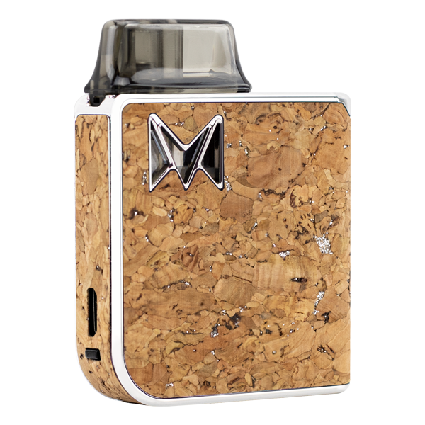 Made with elegance and fine taste, the Silver Cork Mi-Pod PRO was made for use with nicotine salts. Available online at low wholesale prices.