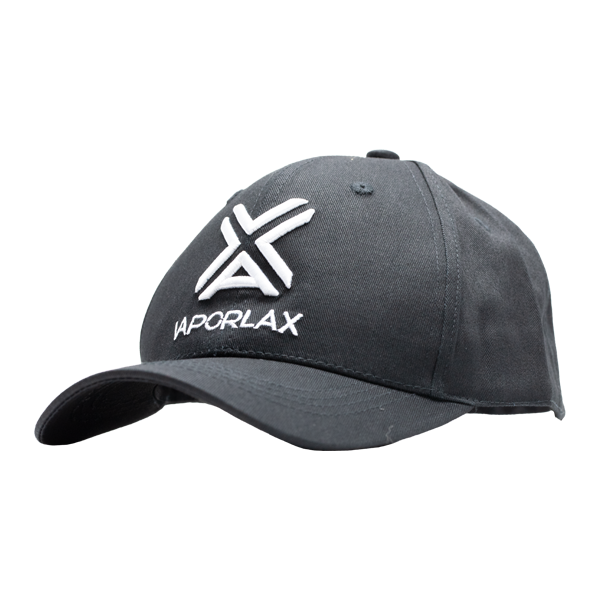A dad-hat style cap, embroidered with the VaporLax Logo