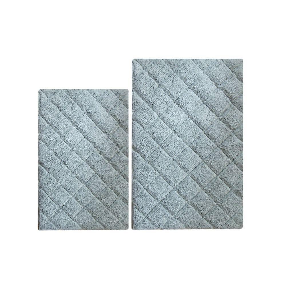 Sindy 2 Piece Impression Bath Rug 2 Pc