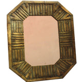 Cassandra Customary Wood Garden Mirror